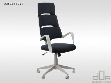 Scaun de birou rotativ, ergonomic, pivotant LORETTO LOR-GY-54-GY-T